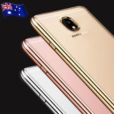 Samsung Galaxy J2 J3 J5 Pro J7 Pro Soft Gel Clear Transparent Slim Case Cover
