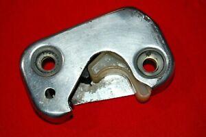 VW KARMANN GHIA DOOR STRIKER PLATE 1964-1966 KEIPER, OEM, REBUILT, LEFT SIDE
