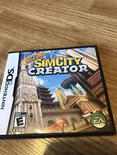 SimCity Creator (Nintendo DS, 2008) Tested Works VC2