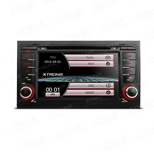 "AUTORADIO 7"" Touch Screen Audi A4 S4 Navigatore Gps Dvd Usb Sd Canbus Mp3"