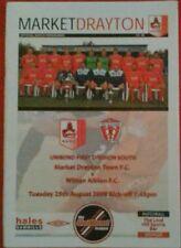 Albion Football Non-League Fixture Programmes (1990s)