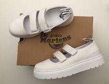 BNIB Dr Martens MAE WHITE AUNT SALLY VENICE 22219100 4 37 Guaranteed Original