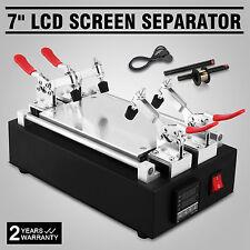 "7"" LCD Separator Vacuum Cell Phone Glass Screen Repair Glass Removal Machine"