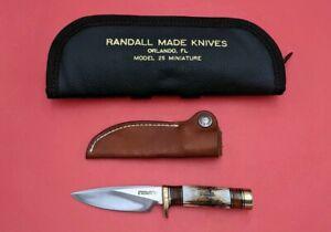 Randall Made Knives Custom RARE Model 25 Mini #616
