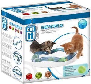 Catit Design Senses Elevated Speed Circuit NEW cat kitten toy ball track