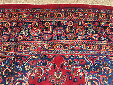 8x11 HAND KNOTTED WOVEN RUG PERSIAN IRAN WOOL AREA RUGS 8 x 11 made red 9 10 12