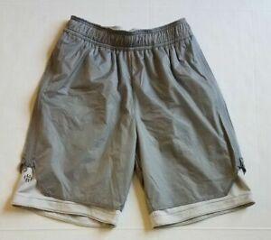 Adidas Men James Harden Playmaker Basketball Shorts CE7805 Grey Size Medium