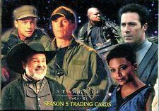 Stargate SG1 Season 5 Complete 72 Card Base Set