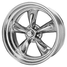 (2) American Racing TORQUE THRUST II Wheels Torq VN515 5x4.75 17x8 Chevy 7863