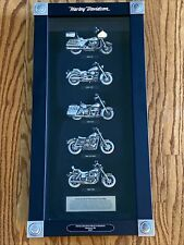 New ListingHarley Davidson 2007 Holiday Heritage Collection Bikes Of The 80s Pewter Display
