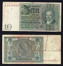10 mark Reichsbanknote Germany 1929  >>