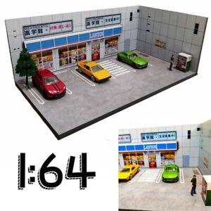 DIY Car Model Diorama LAWSON SHOP Photo Background Display 1:64
