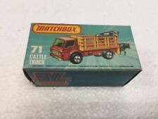 Matchbox 71 Cattle Truck