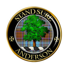 Anderson Clan Écossais Broche Badge