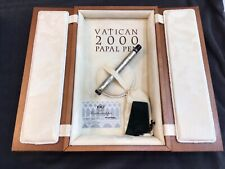MONTEGRAPPA VATICAN 2000 PAPAL .925 STERLING SILVER FOUNTAIN PEN 437/2000