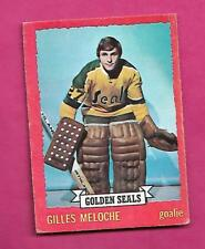 1973-74 OPC # 2 SEALS GILLES MELOCHE  GOALIE GOOD  CARD (INV# C0114)