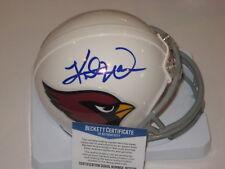 KURT WARNER Signed Arizona CARDINALS Mini-helmet w/ Beckett COA