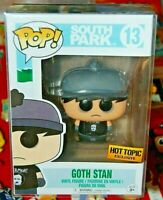 Funko Pop! #13 South Park Goth Stan (Hot Topic Exclusive) FREE S/H