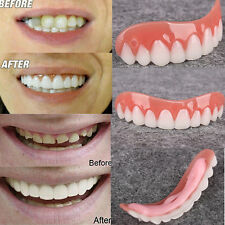 Unisex Perfect Smile Veneers Denture Paste Instant Teeth Flex Fit Veneers Covers
