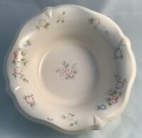 "Pfaltzgraff Tea Rose 10"" Round Ruffle Edge Serving Bowl VGUC, USA"