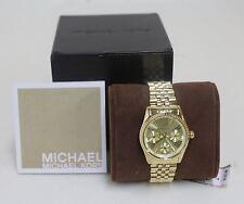 Reloj cronógrafo BNWT MK5808 mini Lexington Michael Kors Señoras de oro-entonado