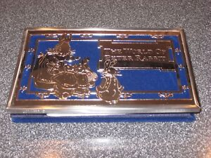 Beatrix Potter GODINGER Fine Silver Plate Brag Book Peter Rabbit Photo Album