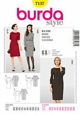 Schnittmuster burda style Nr 7137 Kleid - Shiftkleid Gr. 36 - 54