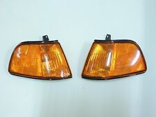 HONDA 90-91 3DR Civic EF2 ED AMBER Corner Lamp Lighr LH RH Pair 4th CSH4