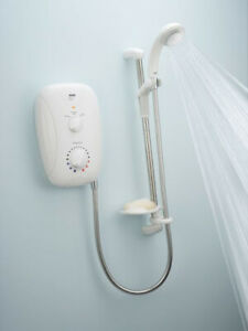 New Mira Play 8.5kw Shower old style White Free Postage