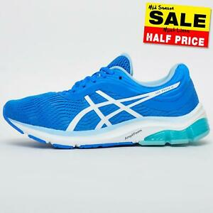Asics Gel Pulse 11 Women's Running Shoes Gym Fitness Trainers Blue (Sample) UK 5