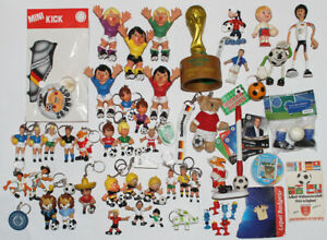 Fußball Maskottchen === ca 50 Figuren WM Werbefiguren World Cup u.a.