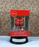 Hallmark Red Love Birds Our First Christmas - Tree Ornament New