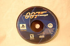 007: The World is Not Enough  (Sony PlayStation 1, 2000) PS1 Game Disc Only