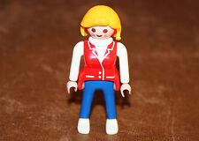 Playmobil personnage femme maison moderne ref dd