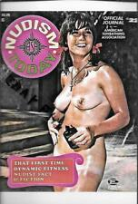 "NUDIST MAGAZINE COVER PHOTO  4"" X 6"" NUDE/ RISQUE PHOTO PRINT #21"