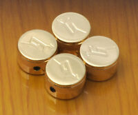 4-Gold Gretsch Knobs