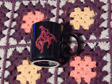 *MARLBORO* - Country/Rodeo - MUG/CUP - Black/Red) 12 oz.) Free Ship.) WESTERN