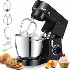 PHISINIC Stand Mixers for Baking, Food Mixer 6.5L 1800W Kitchen Electric Mixer,