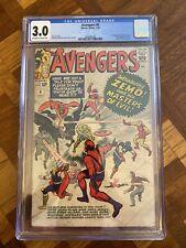 Avengers #6 CGC 3.0 1964 1st full app. Baron Zemo