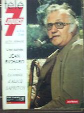 tele 7 jours  n°696 jean richard 25 aout 1973