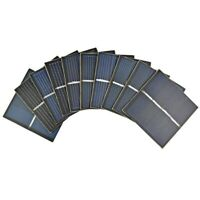 Aiyima 10Pcs Mini Solar Panel 2V 150mA 55*55MM Solar Cell DIY Sun Power Charger