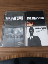 The Haunted   4 CD Lot   One Kill Wonder Made Me Do It Revolver   Very Good+