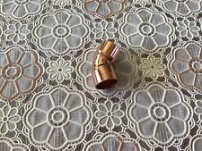 Lot Of 10 12 45 Degree Copper Elbow Fitting Cxc Plumbing Parts
