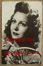 LISE DELAMARE - PHOTOGRAPH - VTG - INSCRIBED - MAX OPHULS - LOLA MONTES