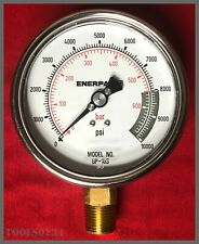 Enerpac® GP10S Hydraulic Force & Pressure Gauge - 10,000 psi - 700 Bar