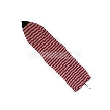 6ft Striped Surfboard Shortboard Plush Terry Cloth Sock Surf Board Cover Bag