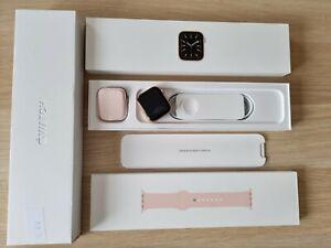 Apple Watch Series 6 - 44mm - Gold + GPS+Cellular - 2022 Jan Warranty (VATINC)