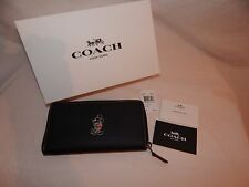 Coach Mickey Mouse Disney Women's Wallet w/ Gift Box Limited MSRP 295 - F58939