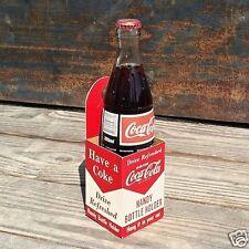 Vintage Original COCA-COLA SODA Automobile Car Carrier COKE Carton 1950s Unused