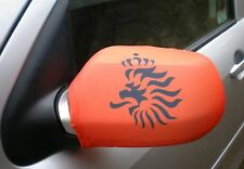 CAR WING MIRROR SOCKS FLAGS, COVERS, FLAG-UPS! - HOLLAND LION